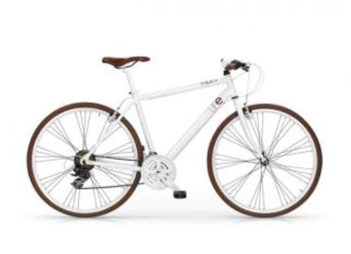 fiets oranje velgen